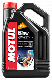 Масло Motul SNOWPOWER SYNTH 2T 100 % SYNT. ESTER 4л