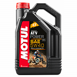 Масло MOTUL ATV POWER 4T 5W40 MA, 4 литра